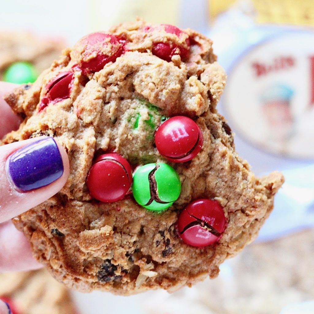 festive Christmas cookie