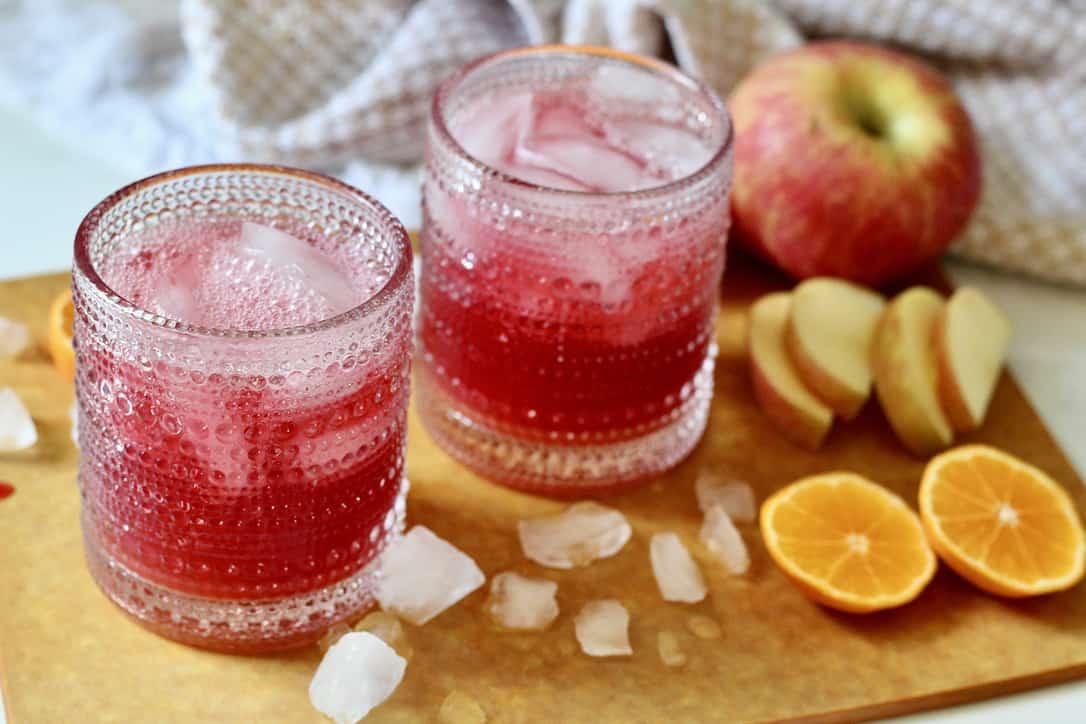 no added sugar fruit punch mocktails