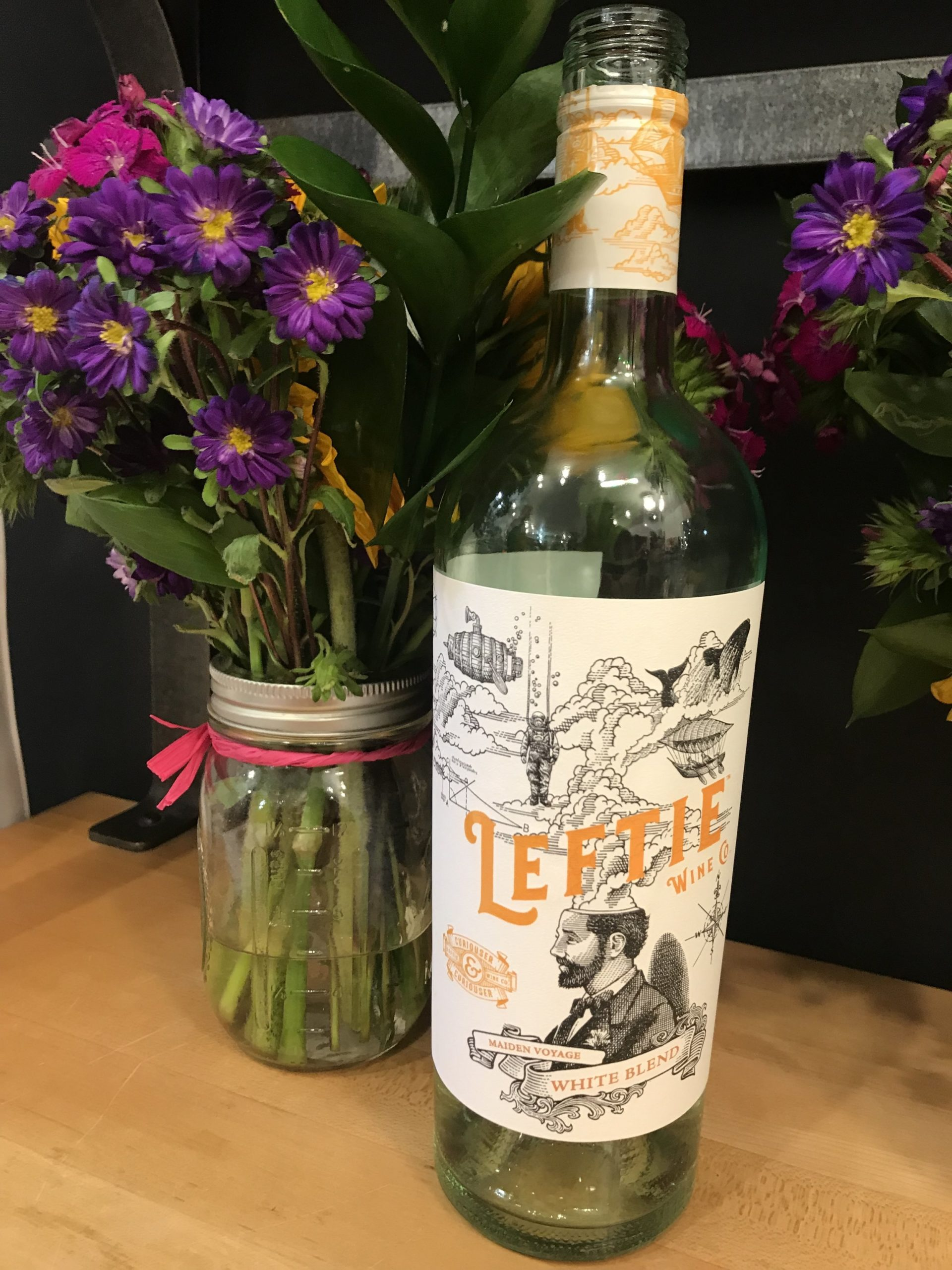 This new line of fruit infused wines hit Sprouts shelves on July 1! The white blend has pineapple juice and the red blend has raspberry juice!