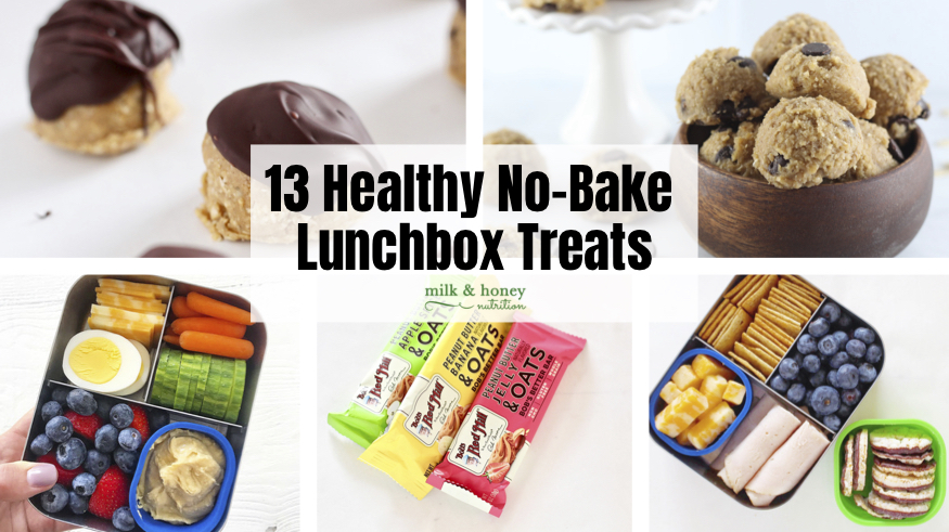 13 Healthy No-Bake Lunchbox Treats