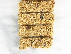 2-ingredient granola bars