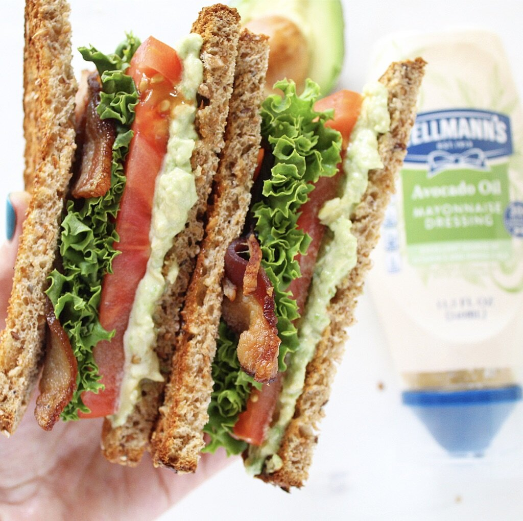 Avocado Lime BLT Sandwich