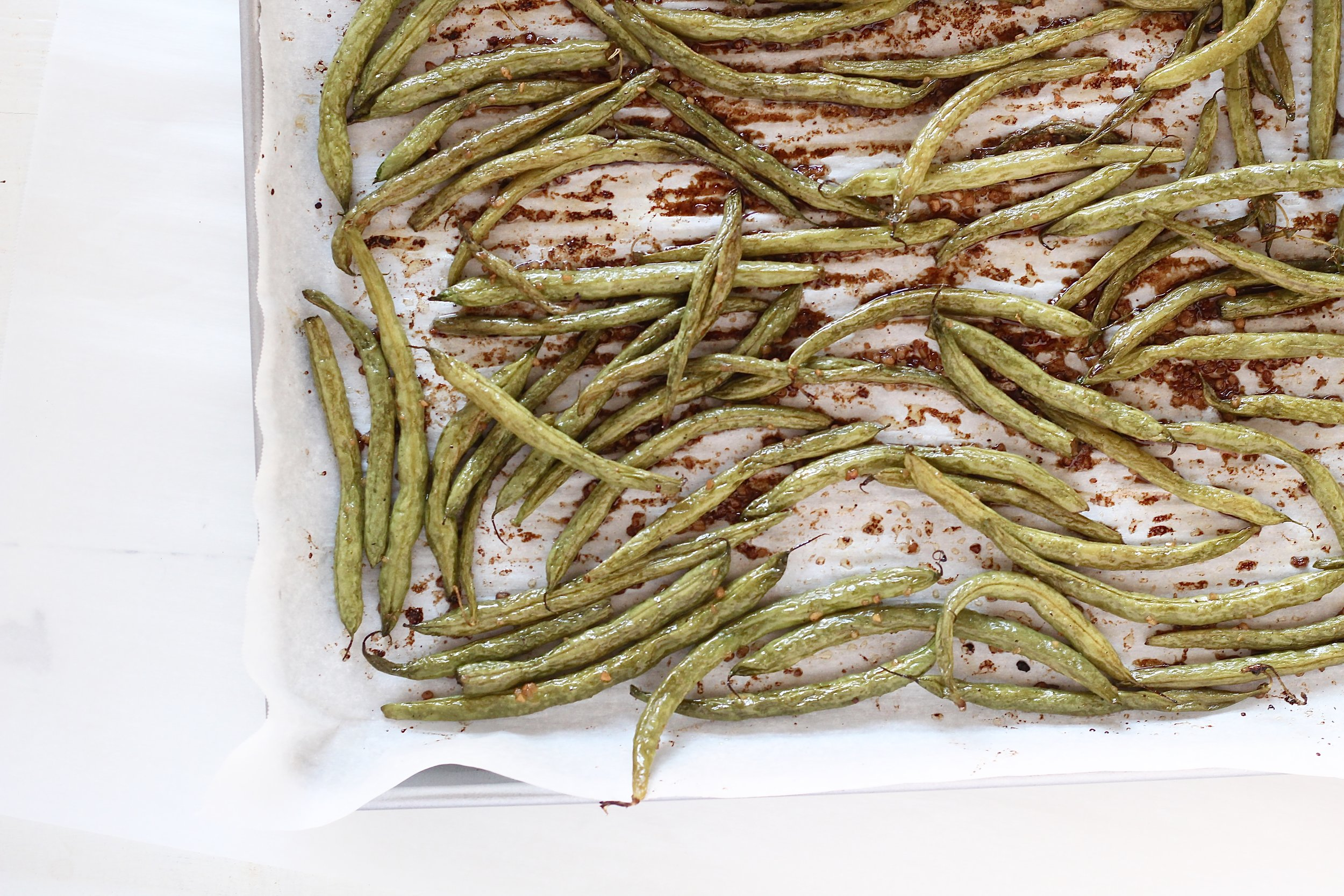 Basic Balsamic Green Beans