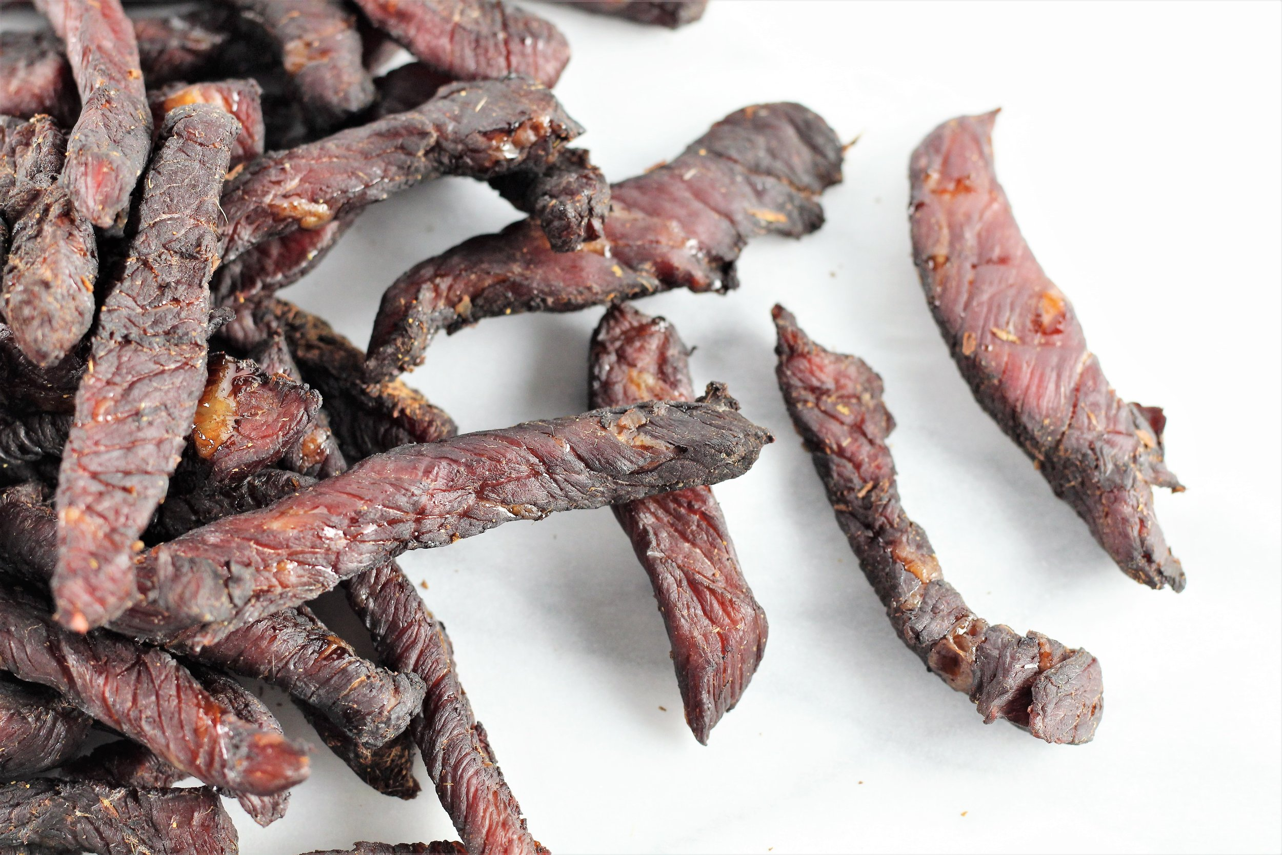 Gluten and Preservative Free Beef Jerky