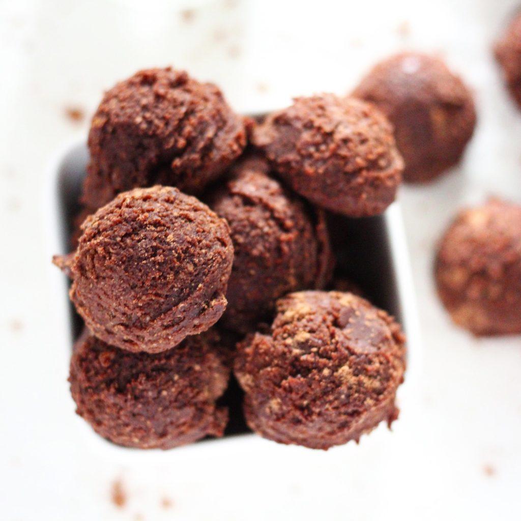 no bake chocolate brownie bites healthy no bake desserts