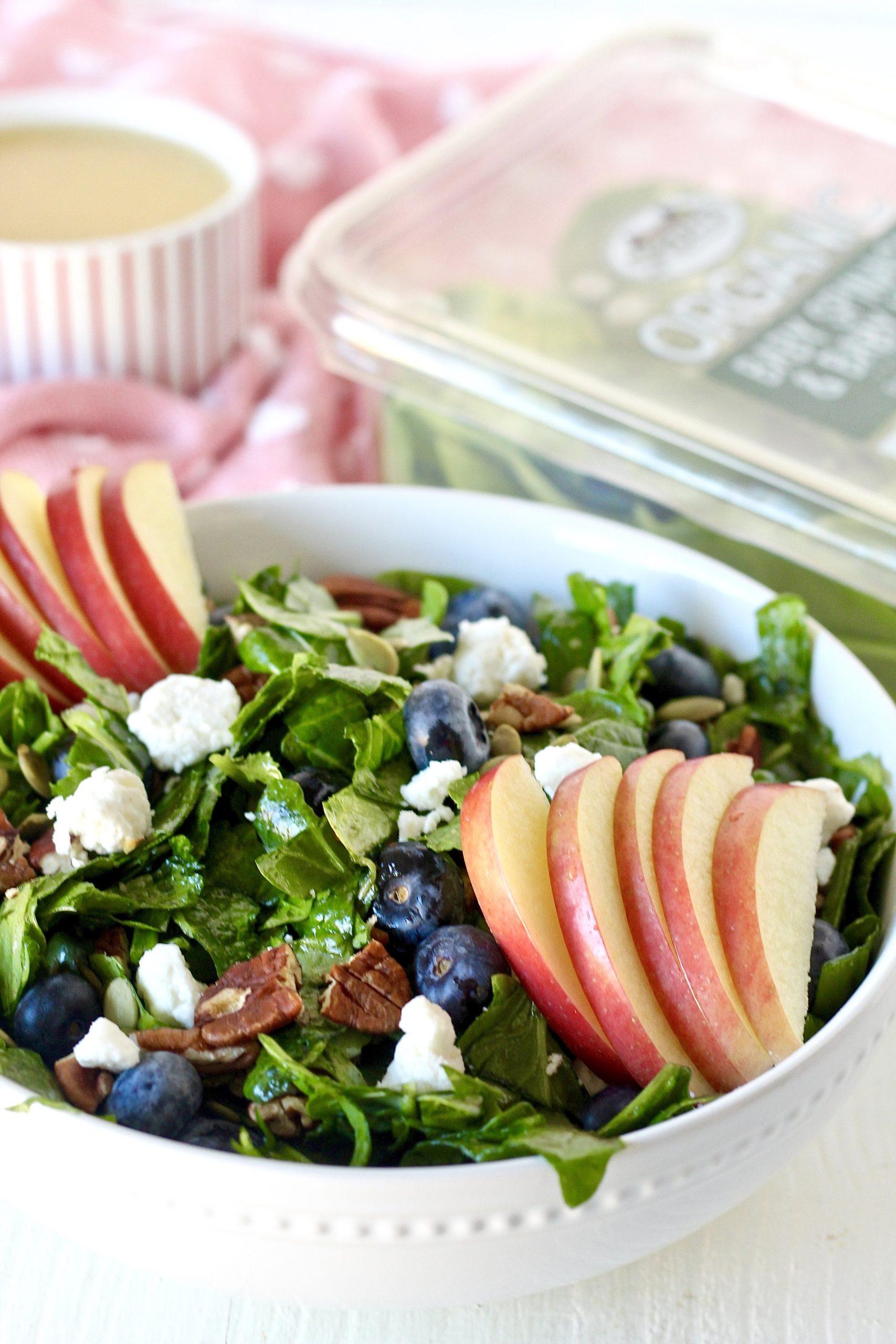 Heart Healthy Blueberry Apple Salad