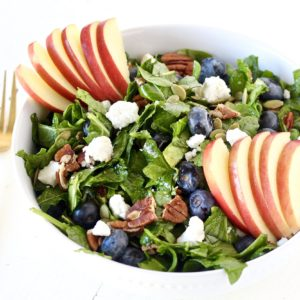Heart Healthy Blueberry Apple Salad
