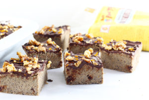 High Fiber Orange Chocolate Cookie Dough Bars