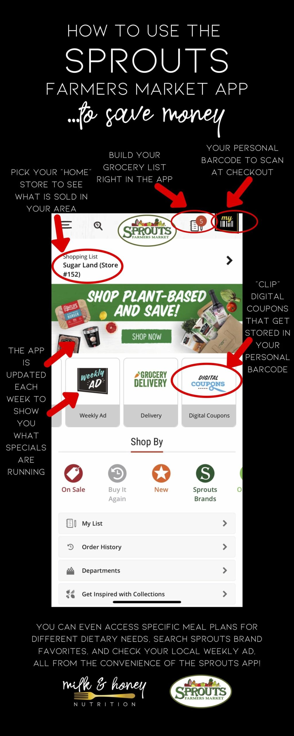 How I use grocery store apps to save money