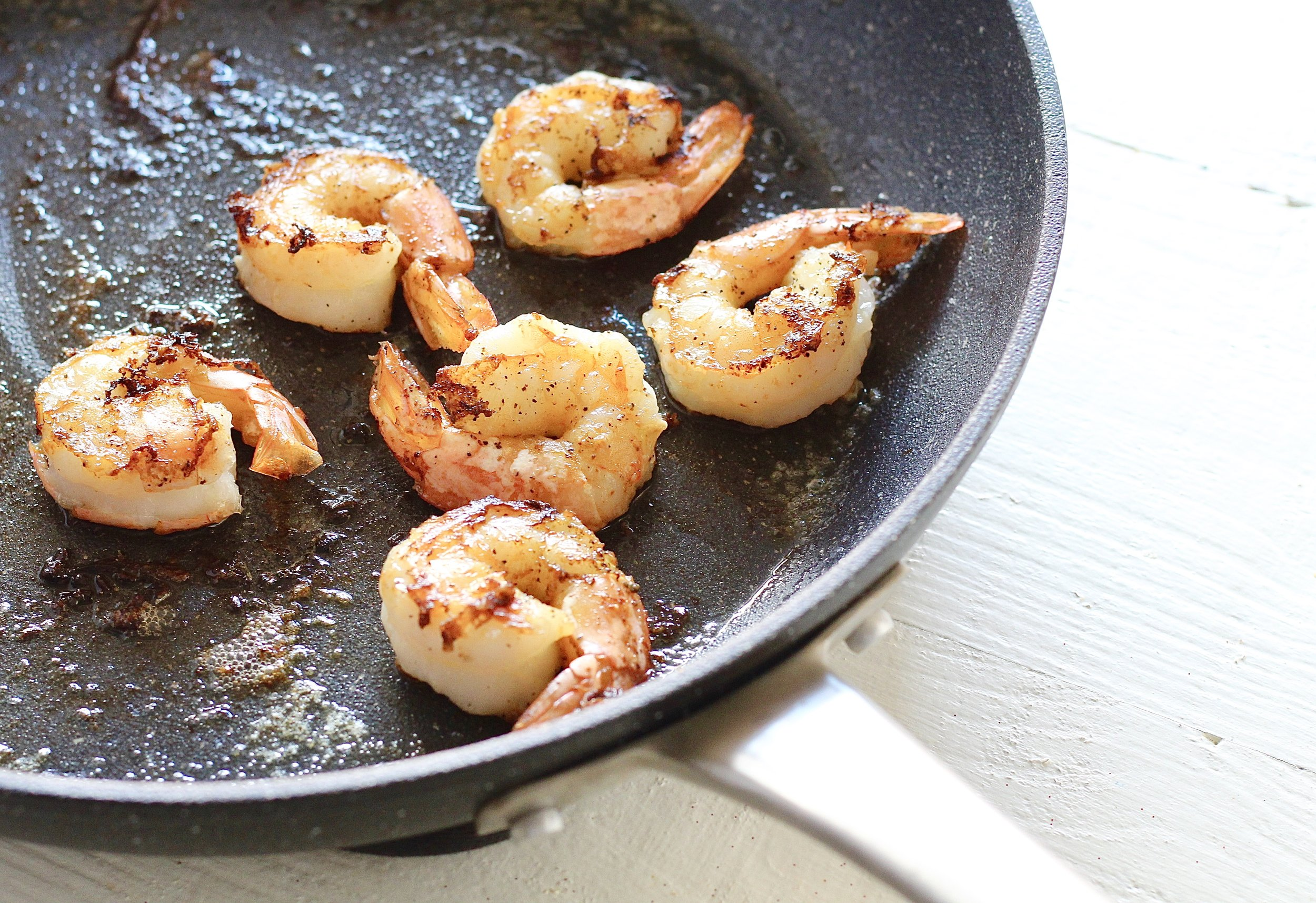 How to cook shrimp at home