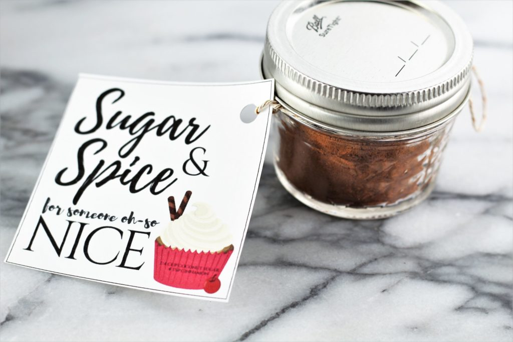 sugar and spice for someone oh so nice fun valentines day idea without candy