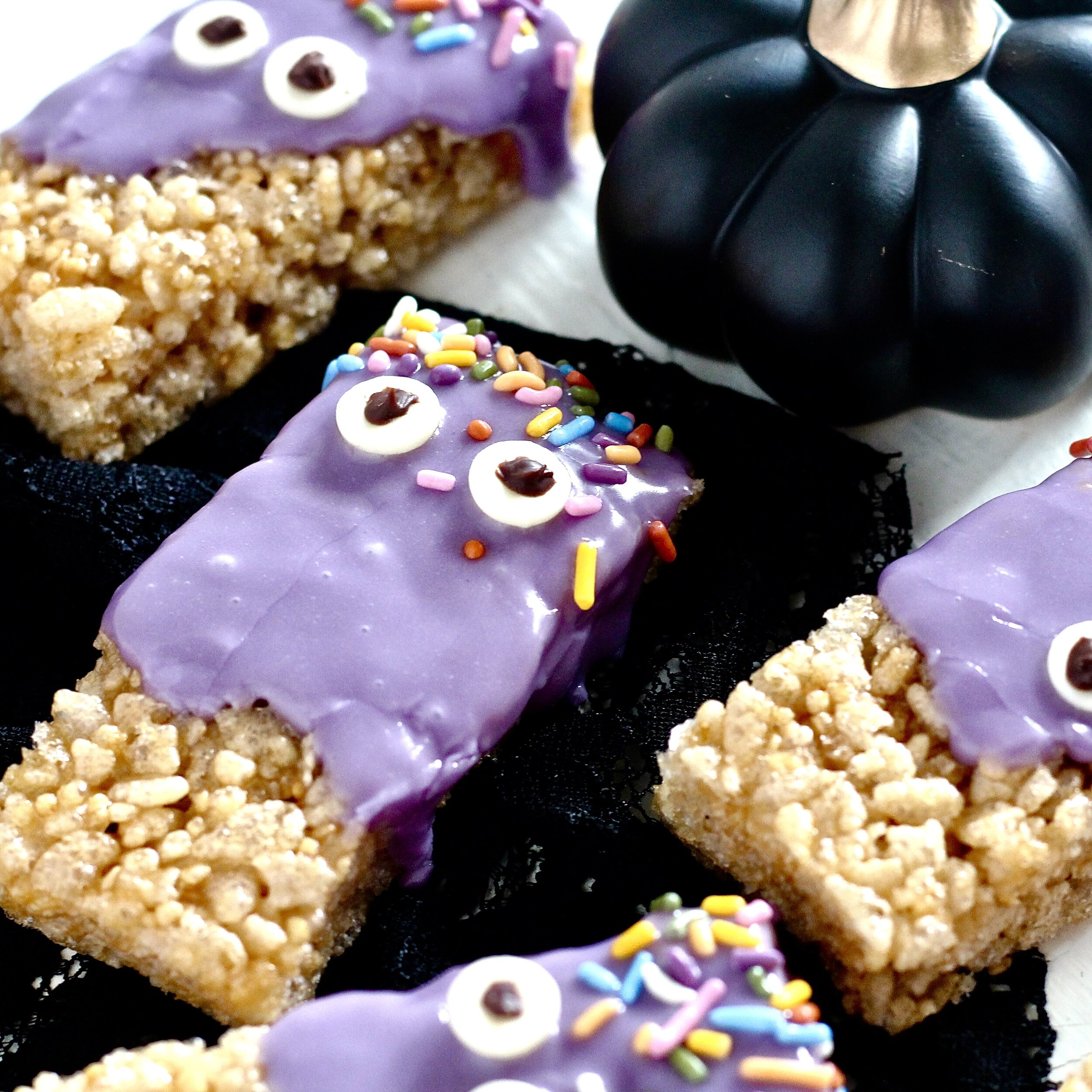 Purple Monster Halloween Treats