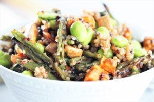 Inside mix for Thai Veggie Protein Wraps