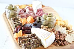 Thanksgiving Charcuterie Board for Daytime Snacking
