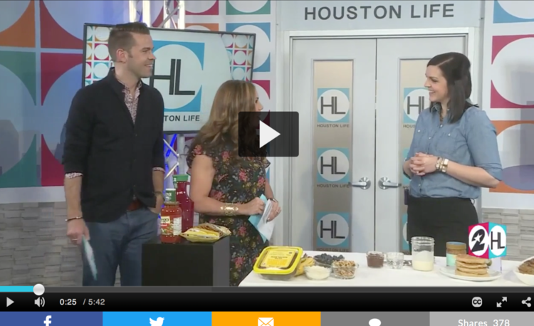 Mary Ellen Phipps on Houston Life talking about sugar