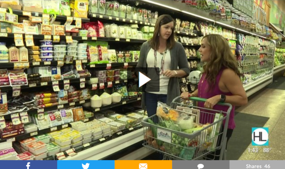 Mary Ellen Phipps in grocery store video