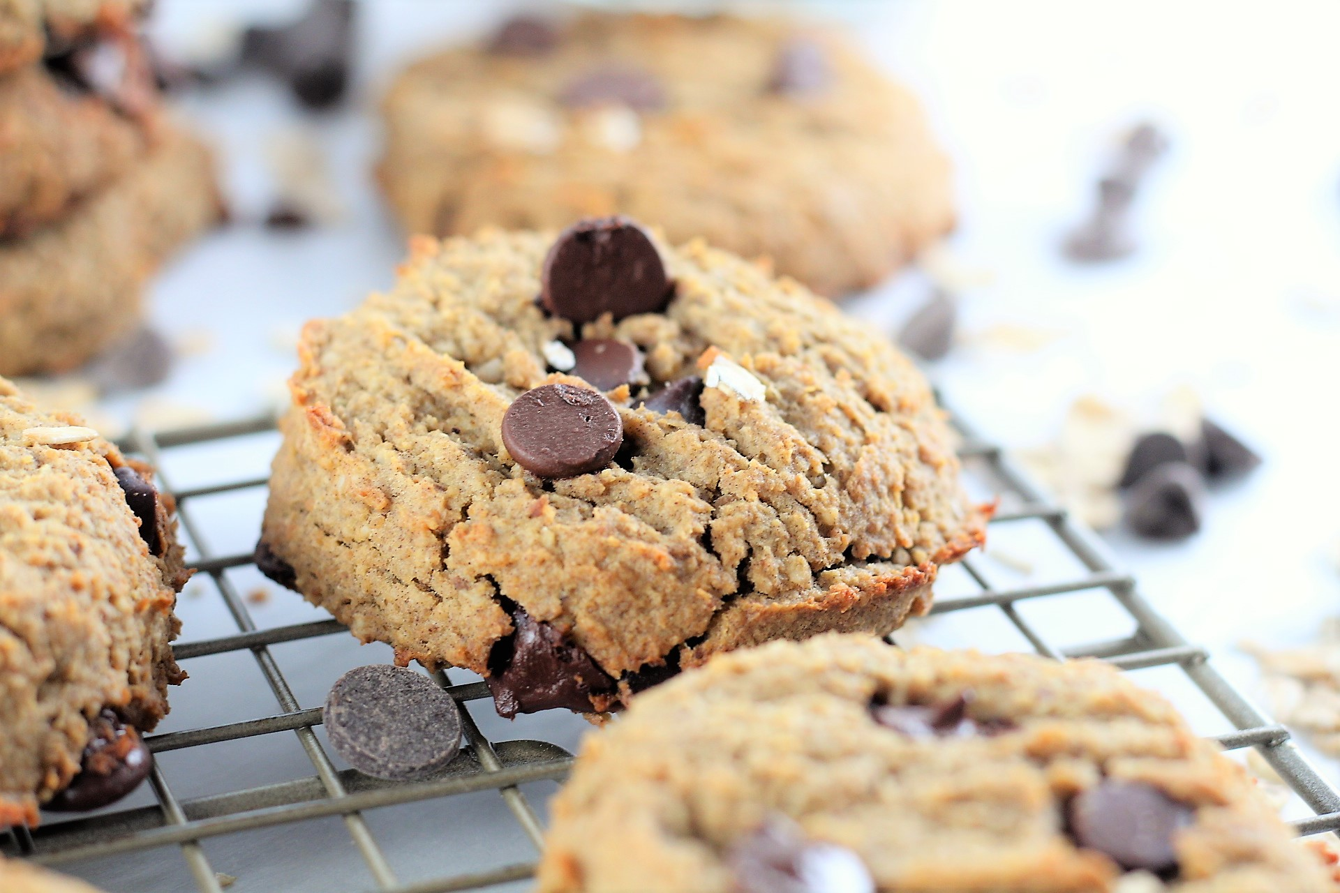 5. Oatmeal Chocolate Chip High Protein Cookies  (10 most popular recipes of 2018)  These cookies were number three for 2017 and it's no surprise at all that they still made the list this year!