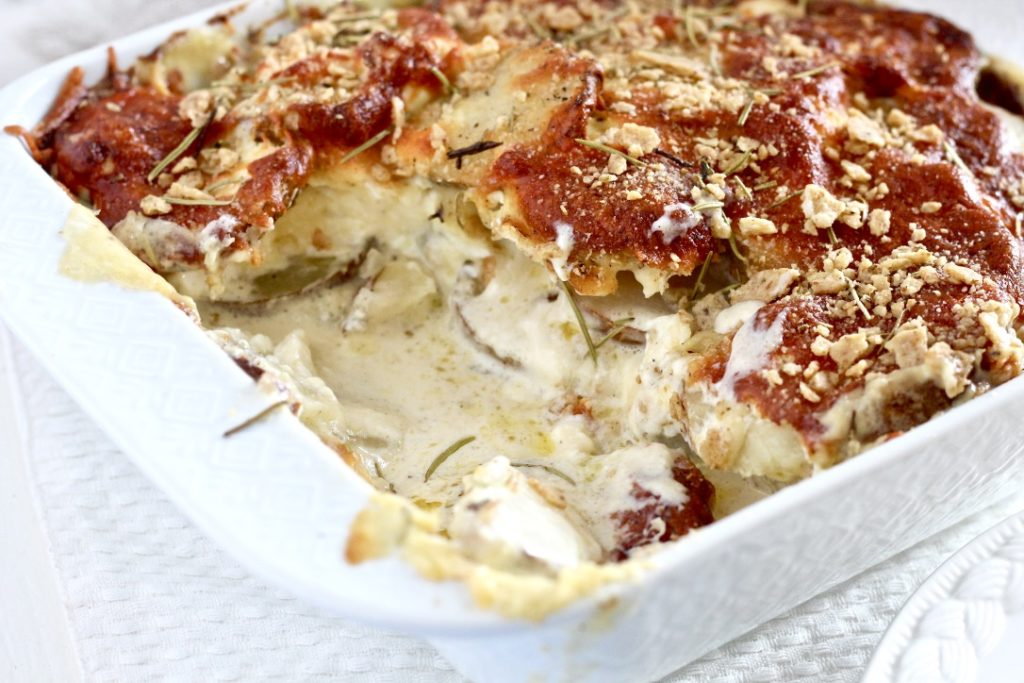 potato side dish with cheese