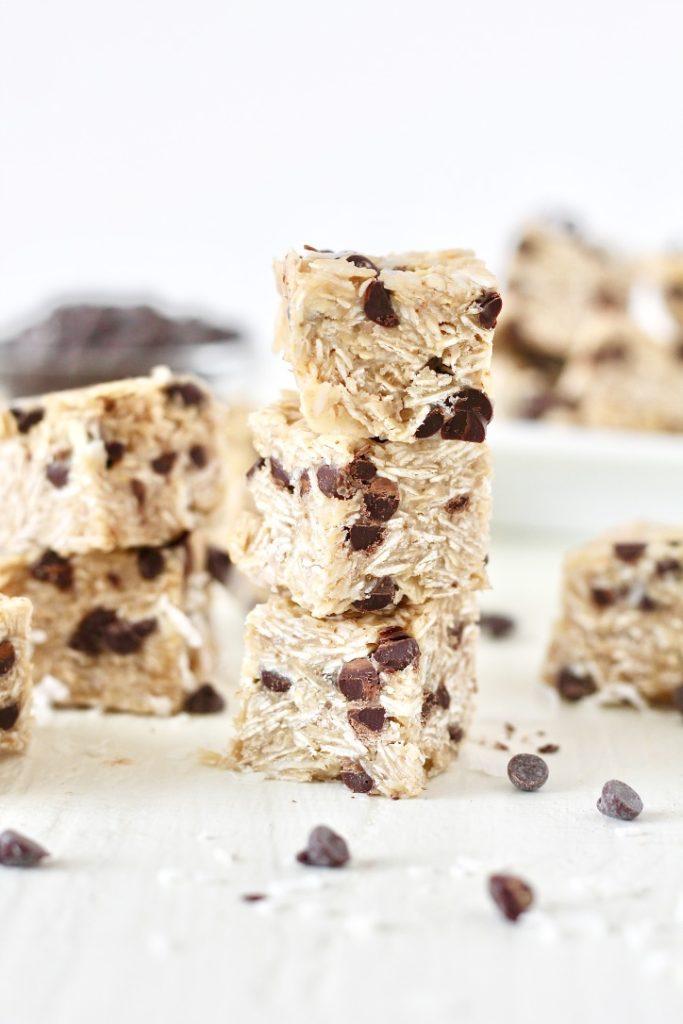 no bake oatmeal chocolate chip cookies