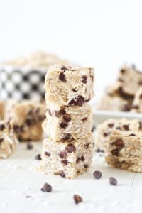 no bake oatmeal chocolate chip cookies