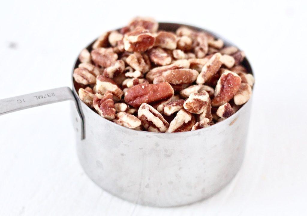 1 cup pecan pieces