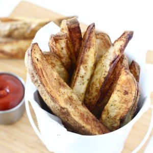 Perfectly Crispy Air Fryer Potato Wedges