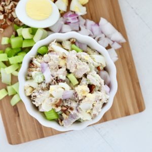 The Best Tuna Salad with Egg Recipe