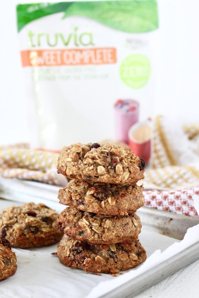 oatmeal raisin breakfast cookies with trove