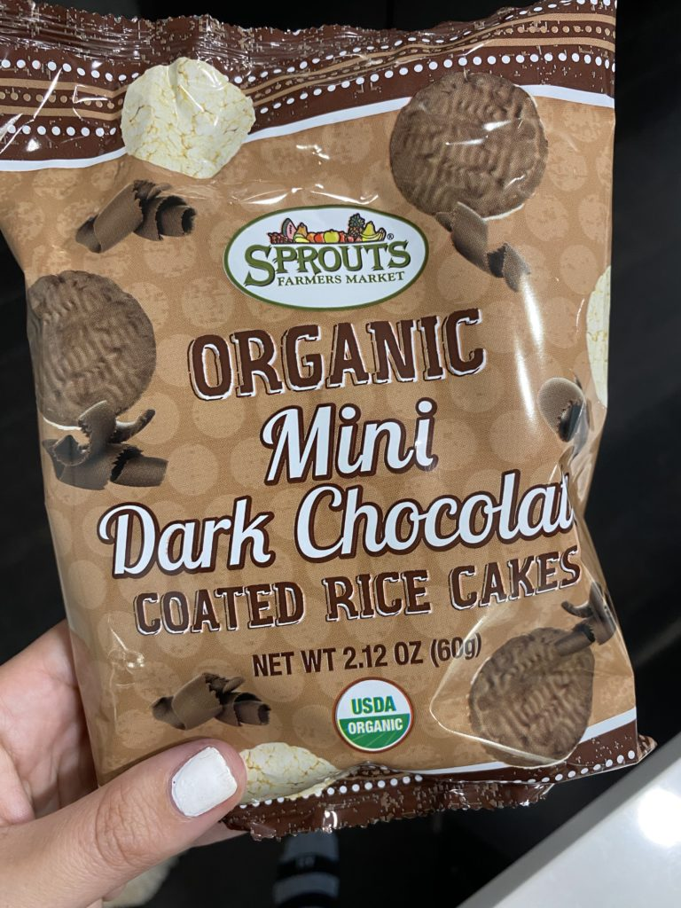 sprouts brand chocolate covered rice cakes