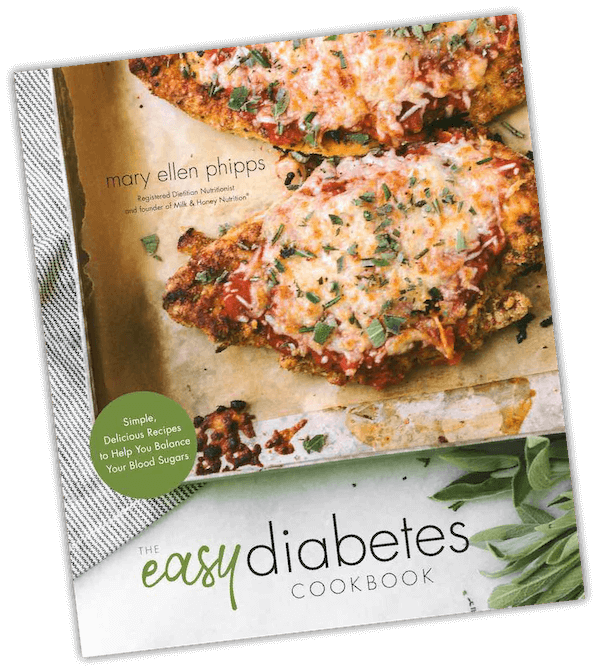 Easy Diabetes Cookbook by mary ellen phipps
