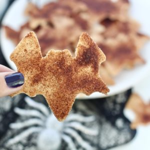 Festive Cinnamon Sugar Tortilla Chips