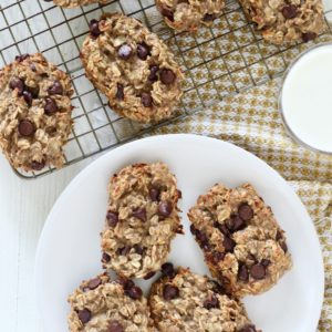 Oatmeal Chocolate Chip Banana Breakfast Bars