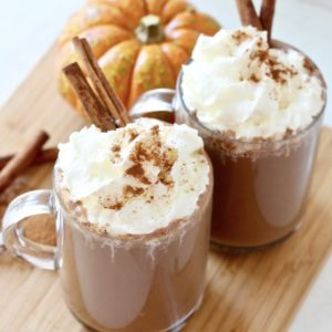 Low Sugar Crock-Pot Pumpkin Spice Hot Chocolate