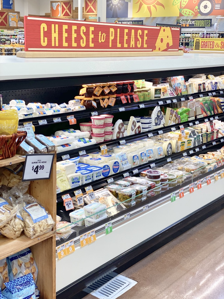 cheese department at sprouts