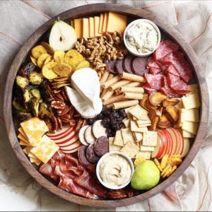 Fall themed charcuterie board