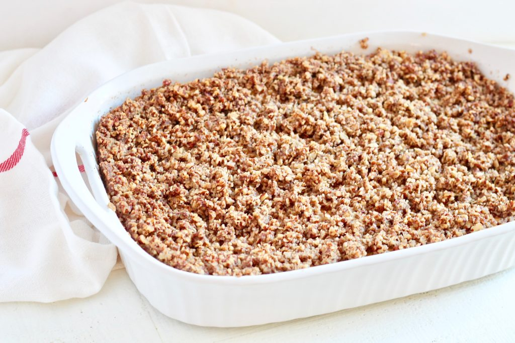 streusel topping for cheesecake
