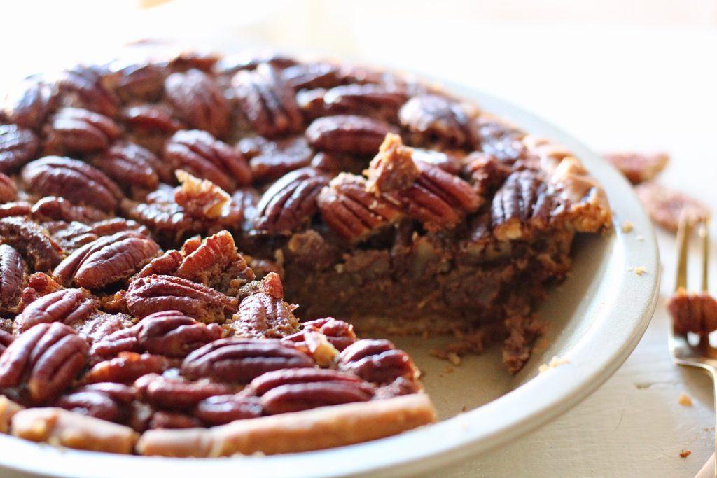 lower sugar pecan pie