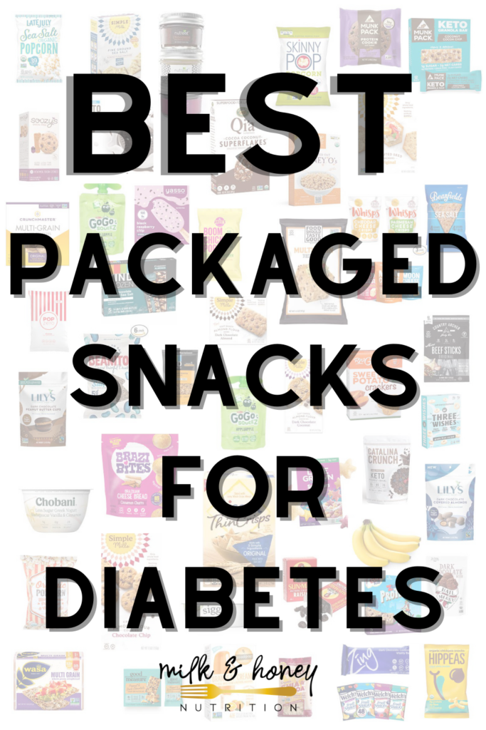 list of best packaged snacks for diabetes