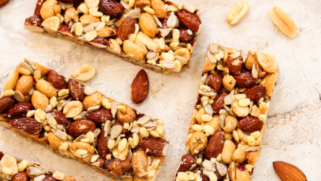 protein bars for diabetes with nuts