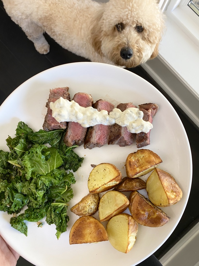 Meal from Blue Apron