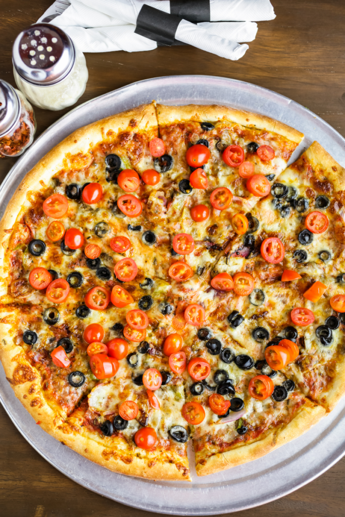 veggie pizza fast food for diabetes