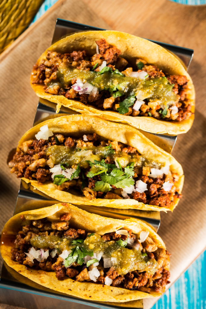 three tacos fast food for diabetes