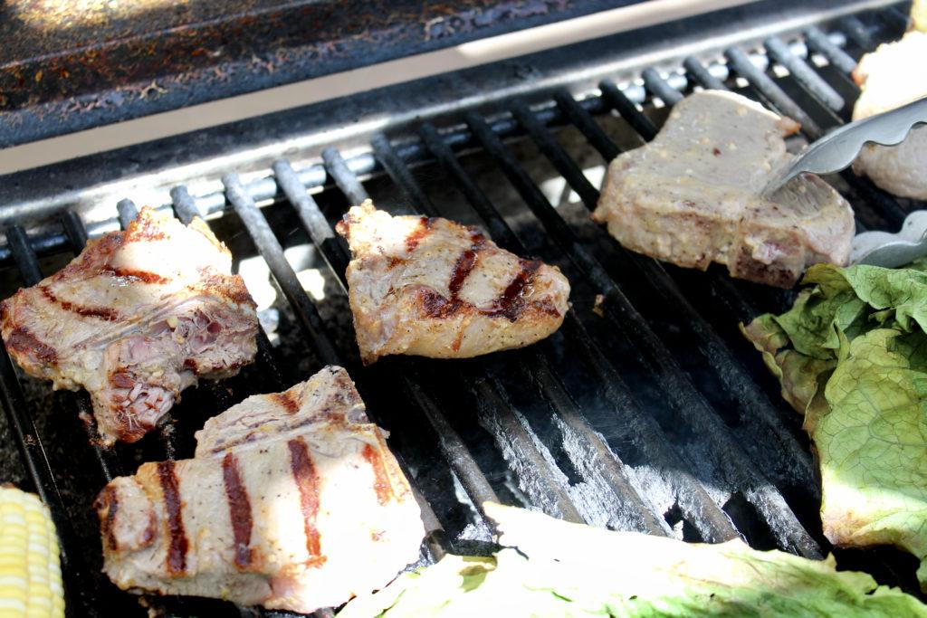 lamb loin chops on gas grill