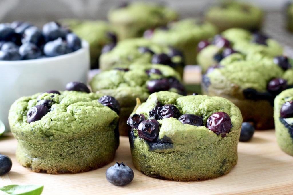 spinach blender muffins