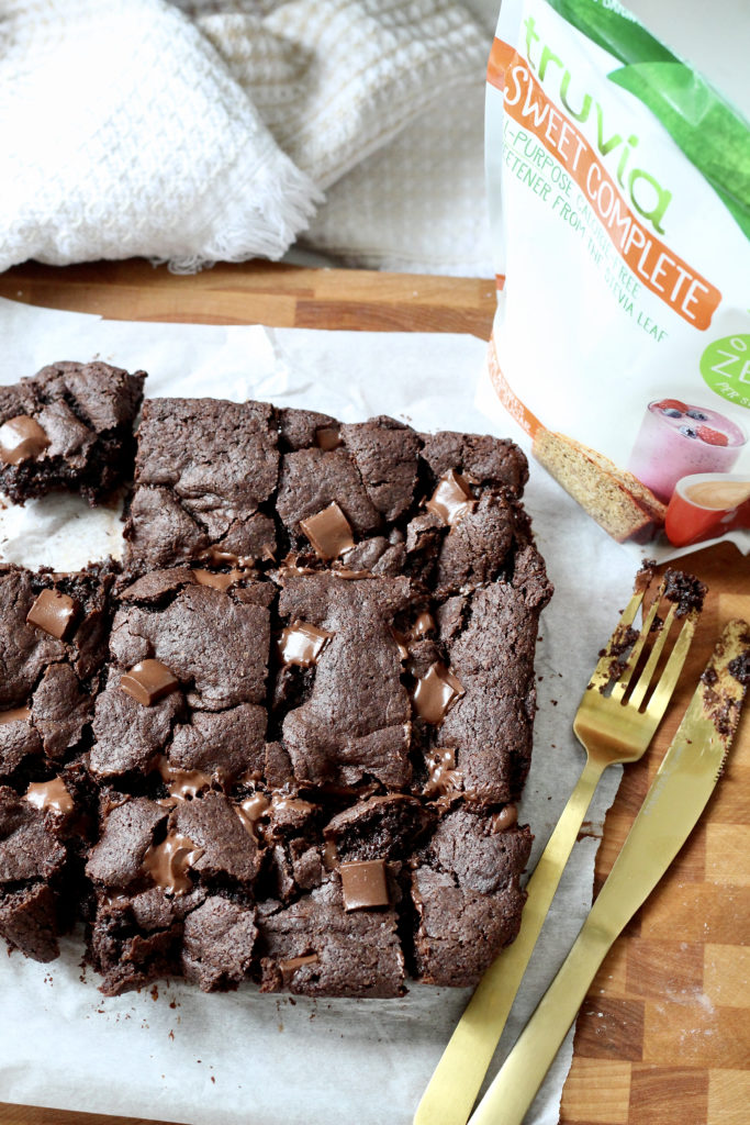 gluten free brownies with truvia sweet complete