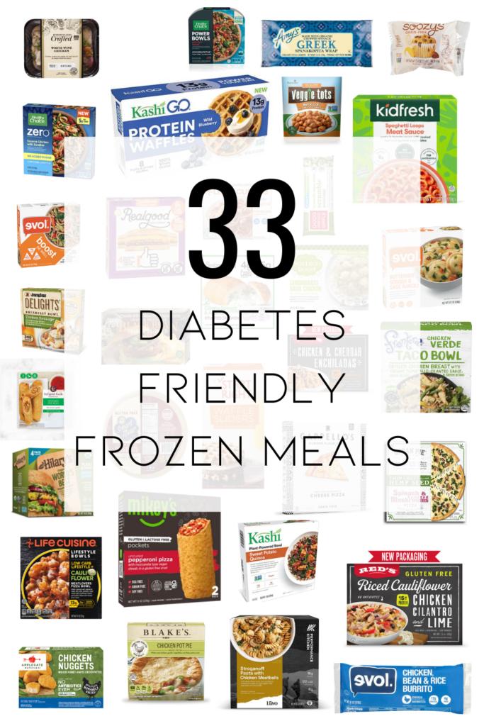 33 diabetes friendly frozen meals
