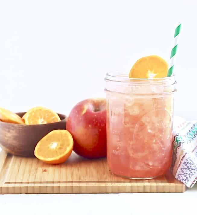 no added sugar fruit punch sparkler