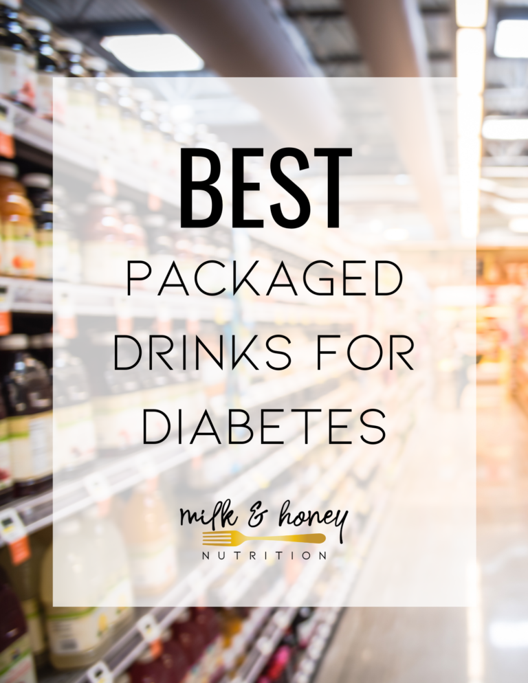 best drinks for diabetes