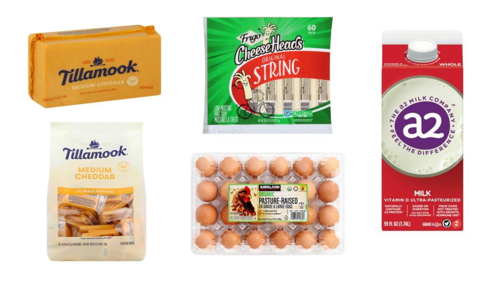 costco shopping list tillamook cheddar frigo sting cheese costco organic eggs a2 milk