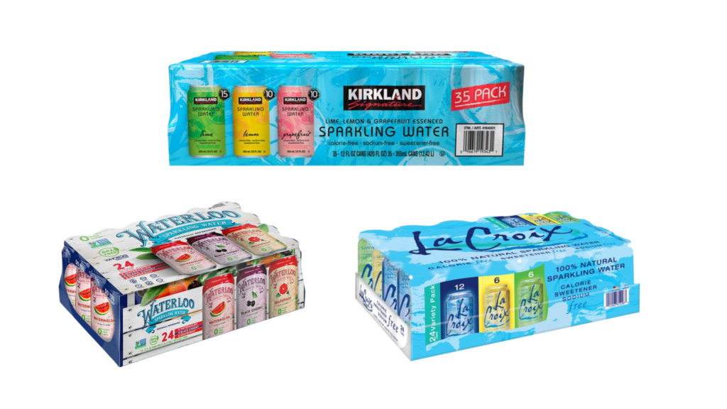 costco shopping list sparkling water kirkland flavored sparkling water waterloo sparkling water lacroix sparkling water
